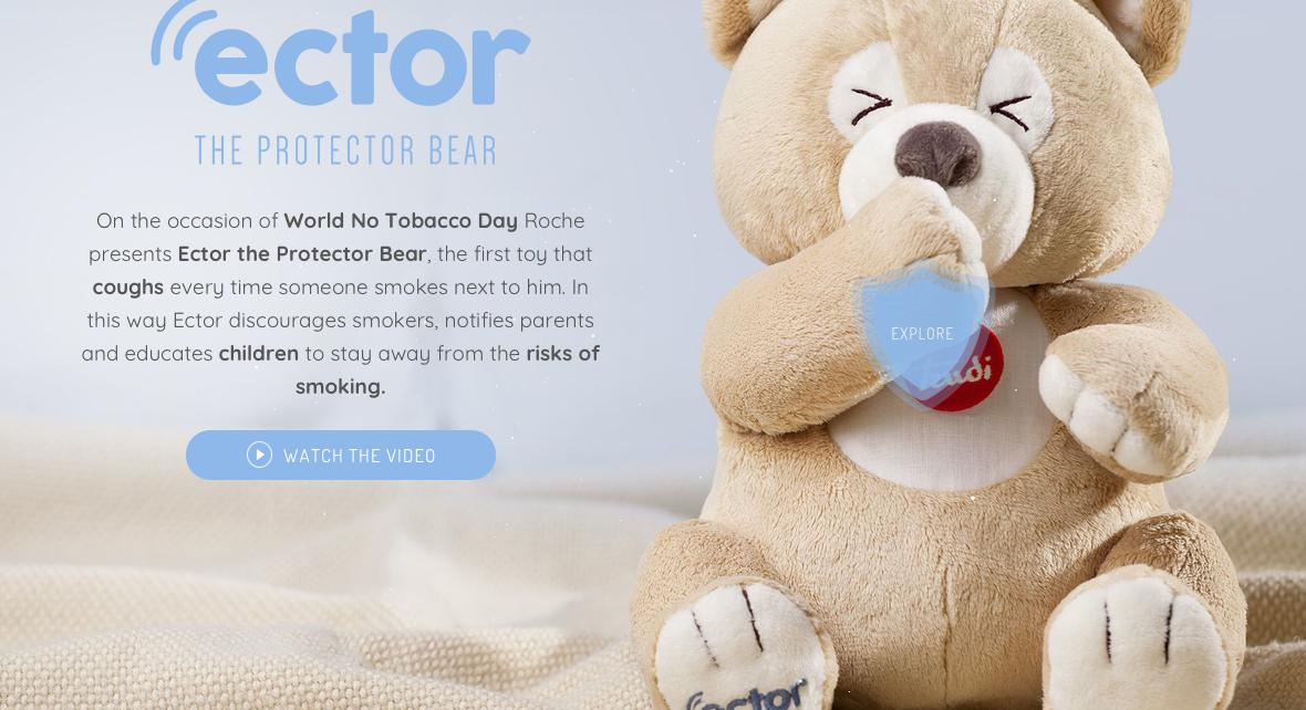 ector orsetto fumo bambini