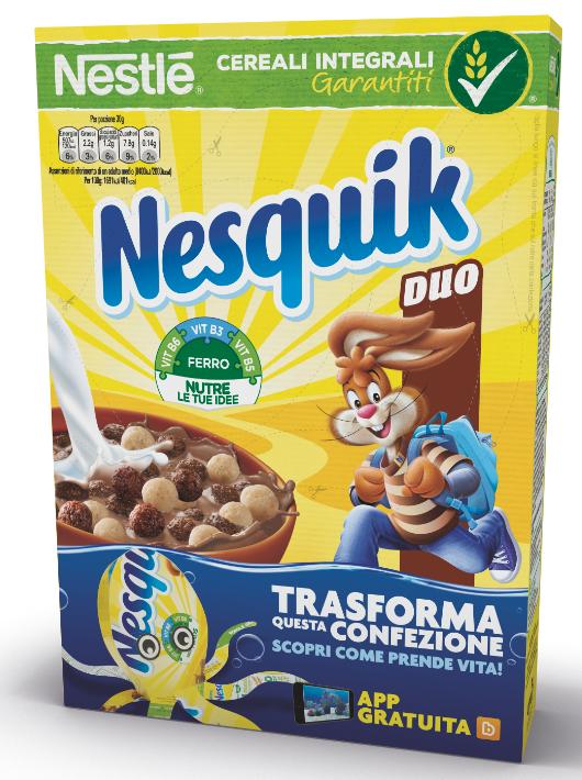 nuovo pack Nesquik