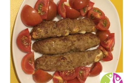 ricetta carne formaggio zucchine