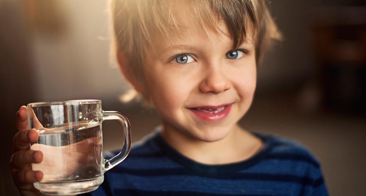 tosse bambini bevono poco