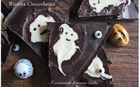 cioccolatini fantasma Halloween