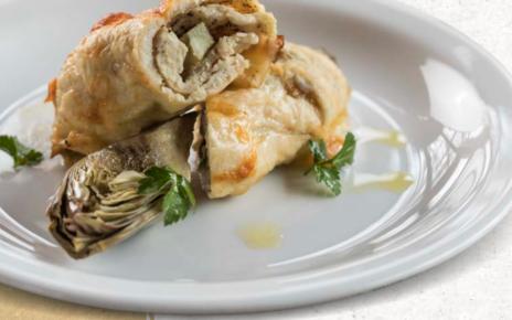 involtini pollo scamorza carciofi Campese Amadori