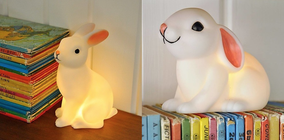lampade notturne coniglio Pasqua