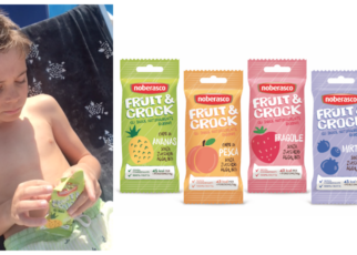 snack fruit&crocks noberasco