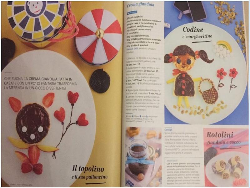 bimby magazine ricetta crema gianduia