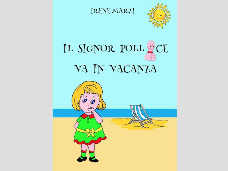 signor pollice vacanza libro copertina Irene Marzi