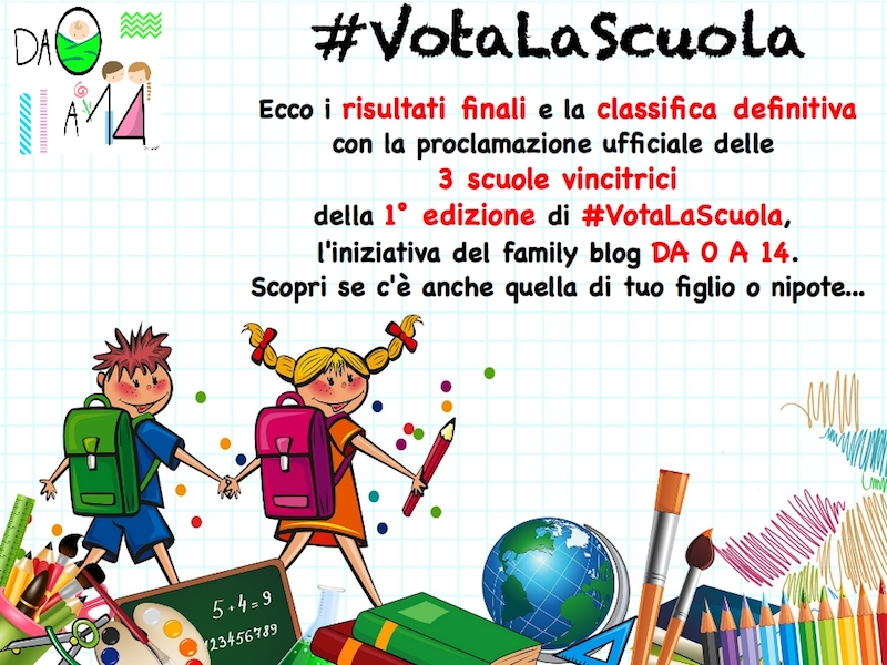 #VotaLaScuola scuola bambini