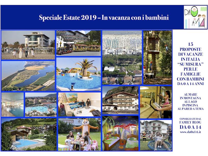Speciale Estate 2019 In vacanza con i bambini