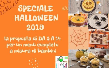 Speciale Halloween 2019 - DA 0 A 14 - 5 ricette menù bambini