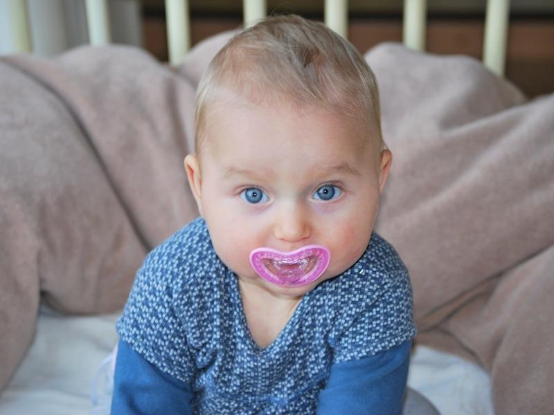 ciuccio biosensore bambino