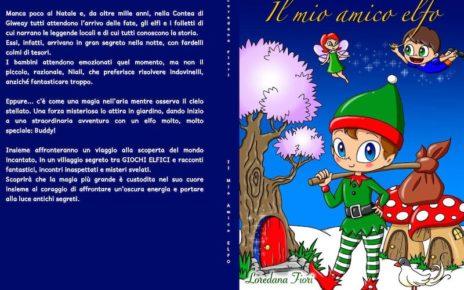 Il Mio Amico Elfo foto copertina libro