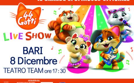 44 Gatti Live Show Rainbow Bari Teatroteam
