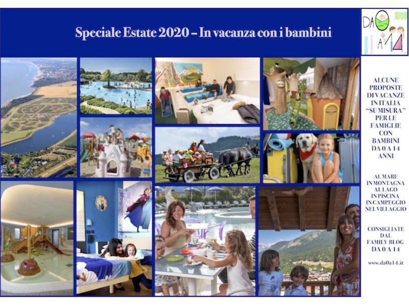 speciale Estate 2020 - In vacanza con i bambini - DA 0 A 14