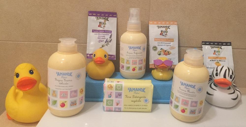prodotti L'Amande Enfant corpo capelli bambini