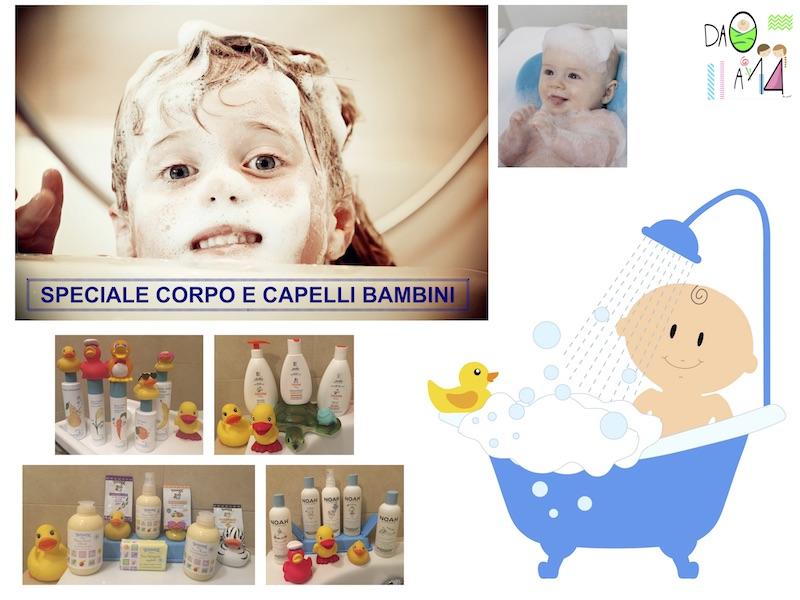 speciale prodotti corpo e capelli bambini
