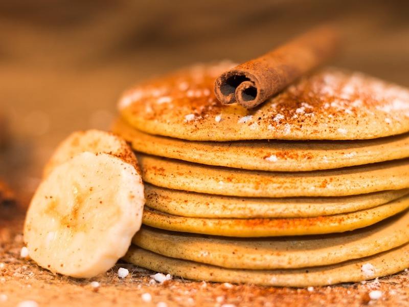 pancake banana ricetta