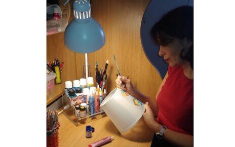 lampade artigianali Rosso Arte