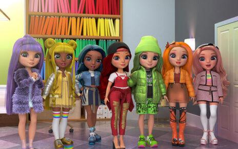 Rainbow High serie web