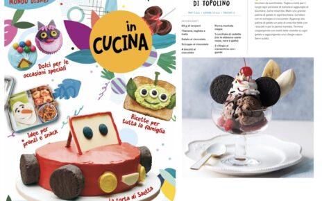 Disney in Cucina ricetta banana split Topolino